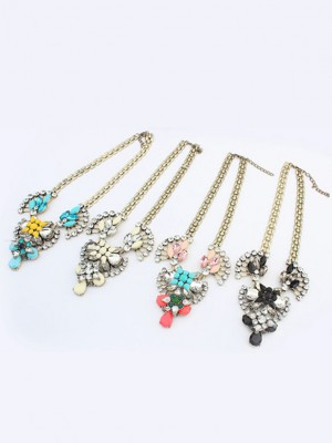 Occident Major suit Retro Hyperbolic Personality Fashion Necklace