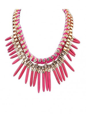 Occident Hyperbolic Personality Punk Street shooting Fashion Necklace