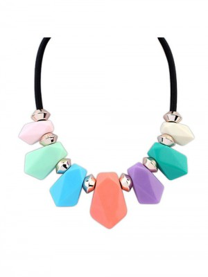 Occident Street shooting all-match Geometry Temperament Fashion Necklace