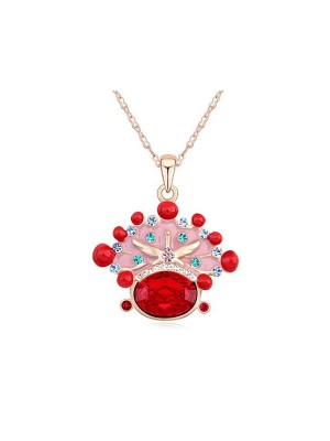 Austria Crystal Fashion Necklace