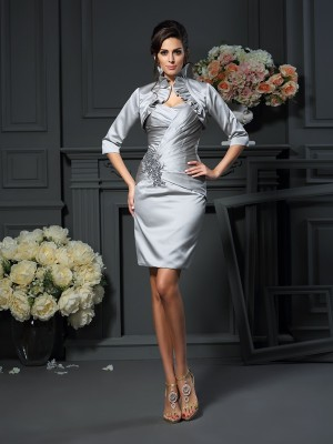Satäng Half Sleeves Special Occasion Fashion Wrap