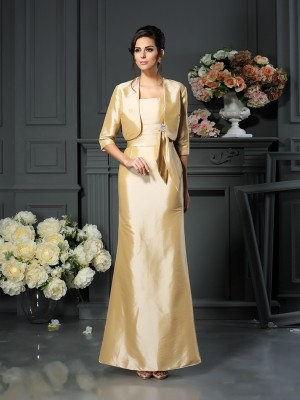 1/2 Ärmar Taft Special Occasion Fashion Wrap
