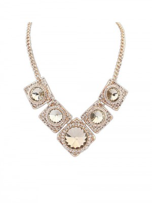 Occident Street shooting Major suit Luxurious Retro Fashion Necklace