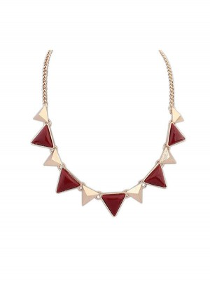 Occident Retro Punk Geometry Triangle Fashion Necklace