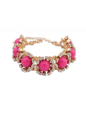 Occident New Street Shooting Collision Color Fashion Bracelets