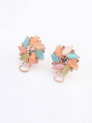 Occident Fashionable Boutique Collision Color Fashion Ear Clip